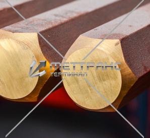 Шестигранник бронзовый в Москве